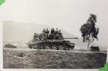 With Comet Tanks 1957-58 Sek Hong.