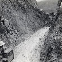 Camp road landslide 22 May 1957 b.