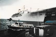 Cruise ship Fairstar.