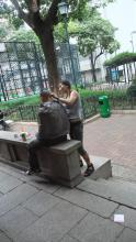 Outdoor Hairdresser