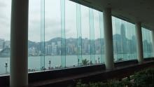 View from inside Regent/Intercontinental Hotel 2011