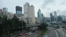 Wanchai from Victoria Park Road