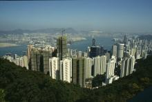 Aussicht vom (View from the) Peak | Hong Kong