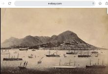 1890s panorama of Hong Kong Island