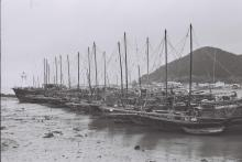 Fishing craft at anchor, Tai O, 1978