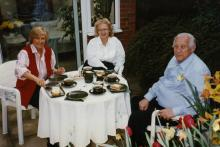 Franziska Waller with Roy & Judi Spencer - late 90's.jpg