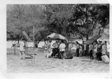 Film crew Shek O 24 April 1958