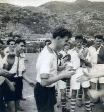 Receiving the cup