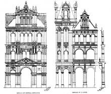 General-Post-Office-Details of Entrance and a Gable