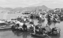 1950s Causeway Bay typhoon shelter