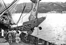 HKAAF-crashed Harvard recovery-1952