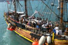HMS Bounty replica-wedding reception.jpg