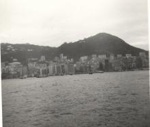 Hong Kong Harbour from Kowloon