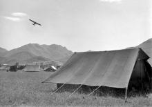 AOP Auster-temp location near the border-1949