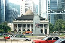 Hong Kong LegCo Building in about 1995