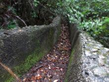 Concrete Channel above Cutting off Little Sai Wan Camp Road