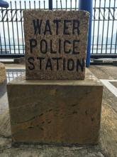 Former Marine Police HQ (TST) - Water Police Boundary Stone