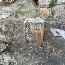 Inland Lot 6666 Marker Stone on Victoria Road