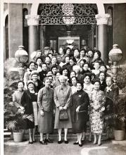 The Council of Women at the YMCA, 19th October 1953
