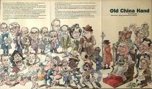 2021 Old China Hand Pub - Framed Caricatures