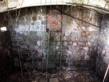 Inside first unknown building (south end)