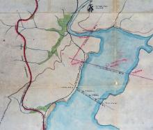 1903 Planned Ty Tam reservoir expansion