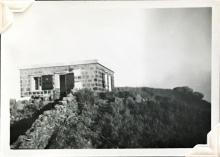 'The Ault' (possibly Hut K, B, or M?). Sunset Peak, Lantau Island. August 1948. Copyright Crozier Family.