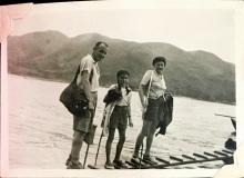 'We Came Down the Mountain' from Sunset Peak, Lantau Island. August 1948. Copyright Crozier family.