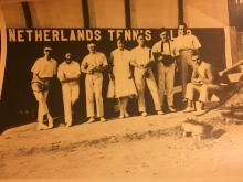 Netherlands Tennis Club Hong Kong in the 1920s