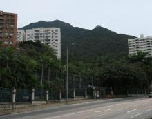 High West from Pokfulam Road