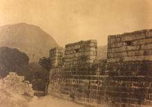 Old wall in Kowloon 1925
