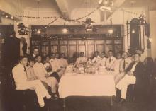 Dutch East Indies Commercial Bank Dinner Party