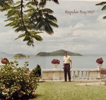 Repulse Bay Hotel front lawn 1967