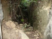 Jardines observation post entrance trench b.