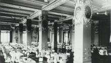 KLN Peninsula Hotel Rose Room c1950s