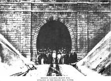 Beacon Hill Tunnel South Portal (c.1910)
