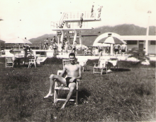 Leisure time during National Service with 1st Batt., King's (Liverpool) Regiment 1952-1954