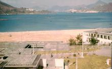R.A.F. Little Sai Wan. View from Room 53 balcony