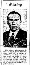 Lyall Scott Glendinning-Missing-China Mail front page-02-05-1947