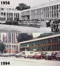 Morse House 1956 and 1994
