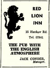Names from the past-Red Lion Inn & Jack Conder-China Mail-16-04-1947