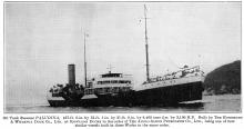 S. S. Paludina - Launched  1921