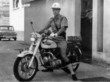 HKP Traffic Branch Motorcycle & Inspector's Summer Uniform - 1966