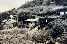 Hillside shacks