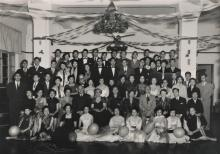 Queen Mary Hospital Chinese Nurses' Party - December 1953