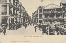 Queen's Road, Hong Kong. Postcard purchased 1908.jpg