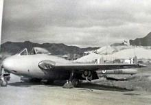 RAF VAMPIRE- FIRST JET FIGHTER AT KAI TAK