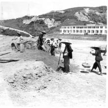 Reclamation work a 1958.
