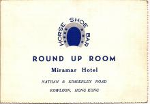 Round Up Room, Miramar Hotel