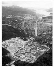 Shatin Nullah - by train track near north portal 1973